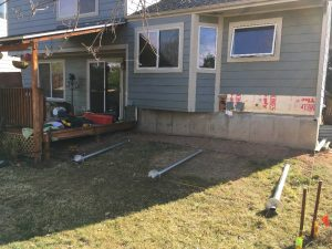 House Extension on Helical Piles in Littleton, Colorado, USA